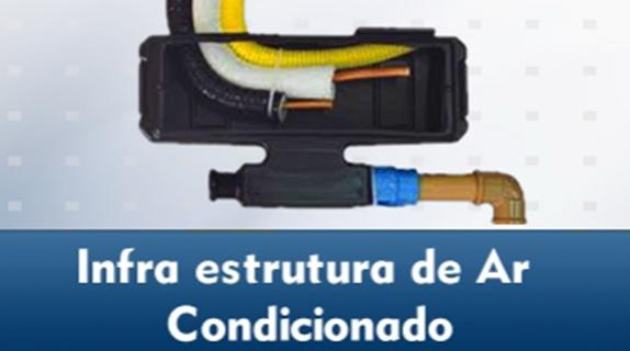 Infra estrutura de ar condicionado
